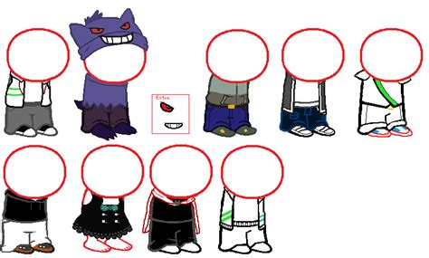 Homestuck sprite sheet non canon [Free to use] by